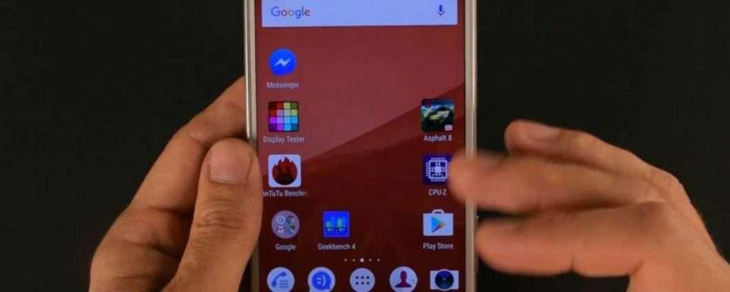 La videoprova del Sony Xperia X