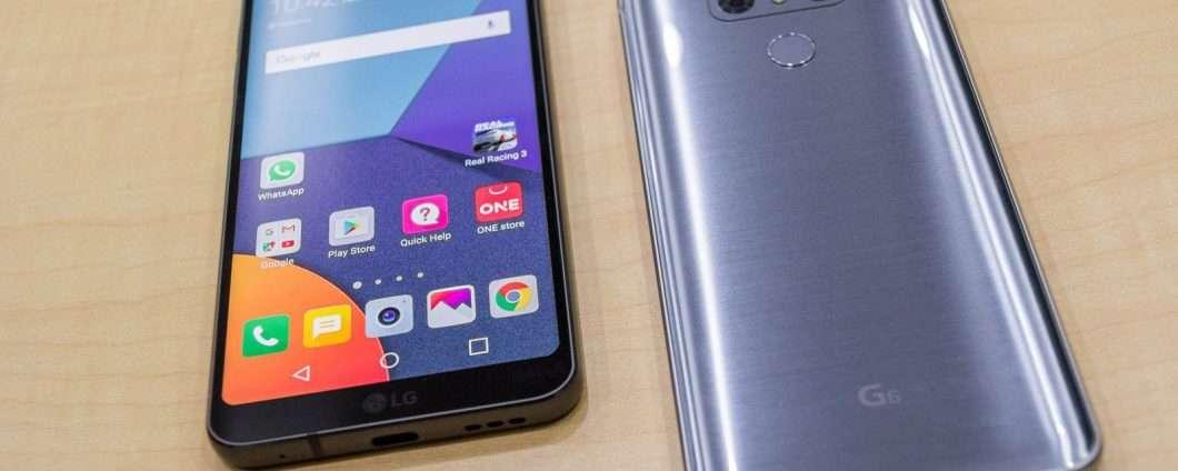La videoprova dell'LG G6