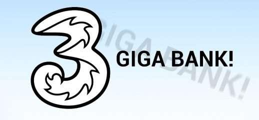 3 lancia la nuova GIGA BANK