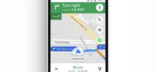 Google Maps si aggiorna: supporto a Spotify fra le novità
