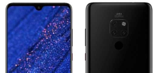 Huawei Mate 20: i render stampa ufficiali