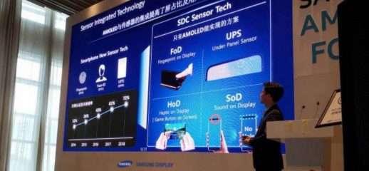 Samsung al lavoro su una fotocamera in-display