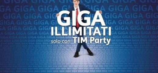 TIM Party: traffico dati illimitato per tutti i clienti