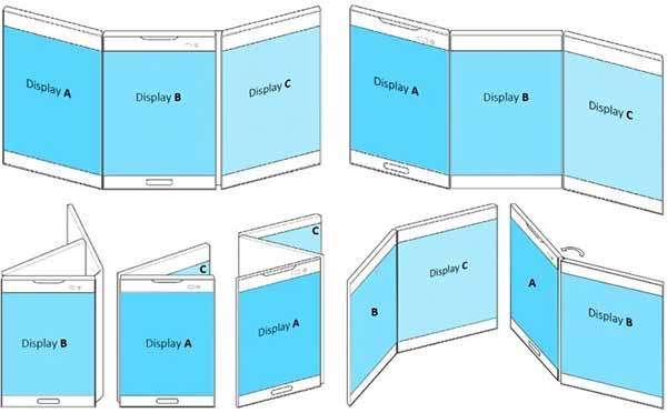 Il brevetto di LG per uno smartphone pieghevole