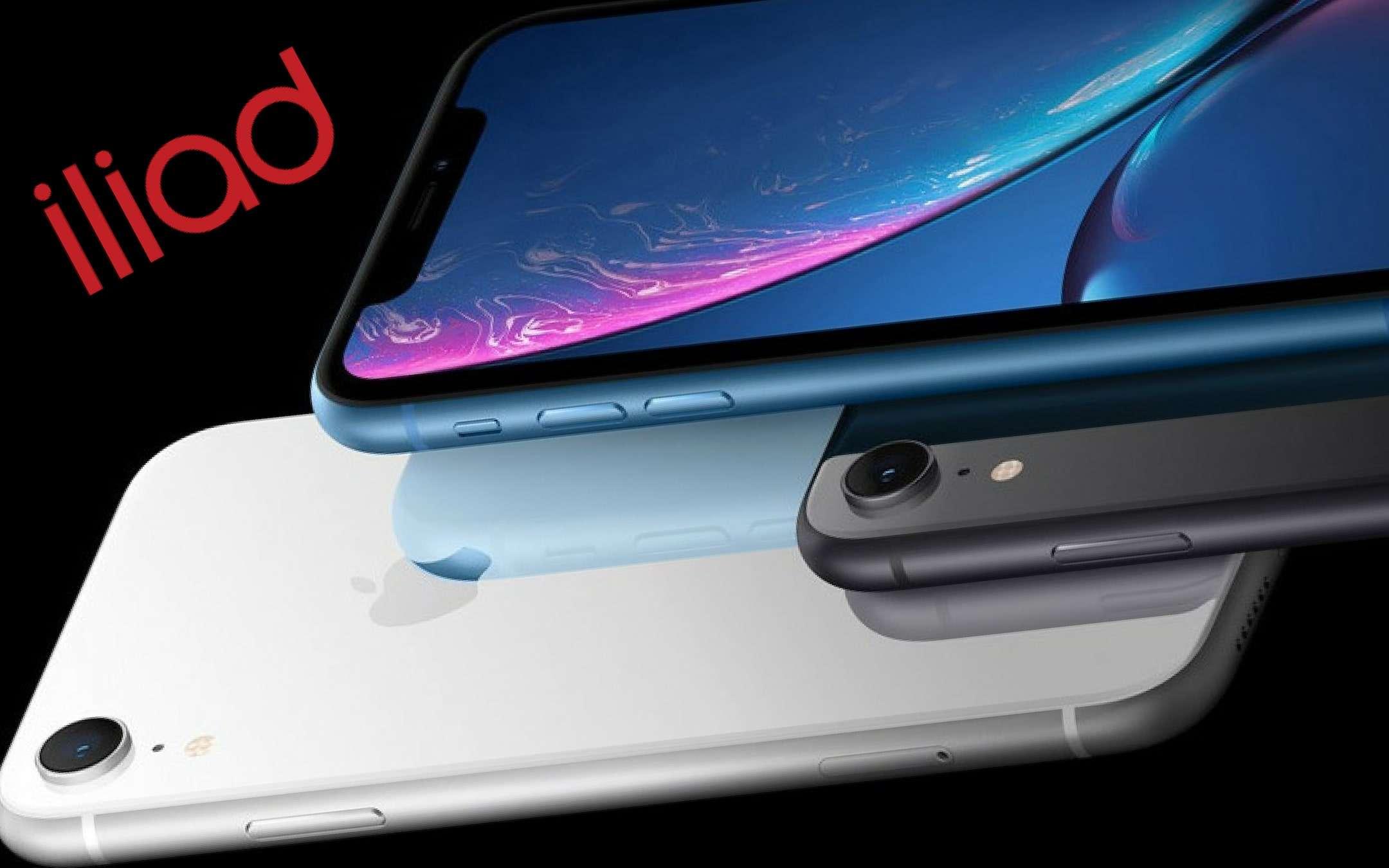 Iliad: arrivano gli iPhone sullo store ufficiale