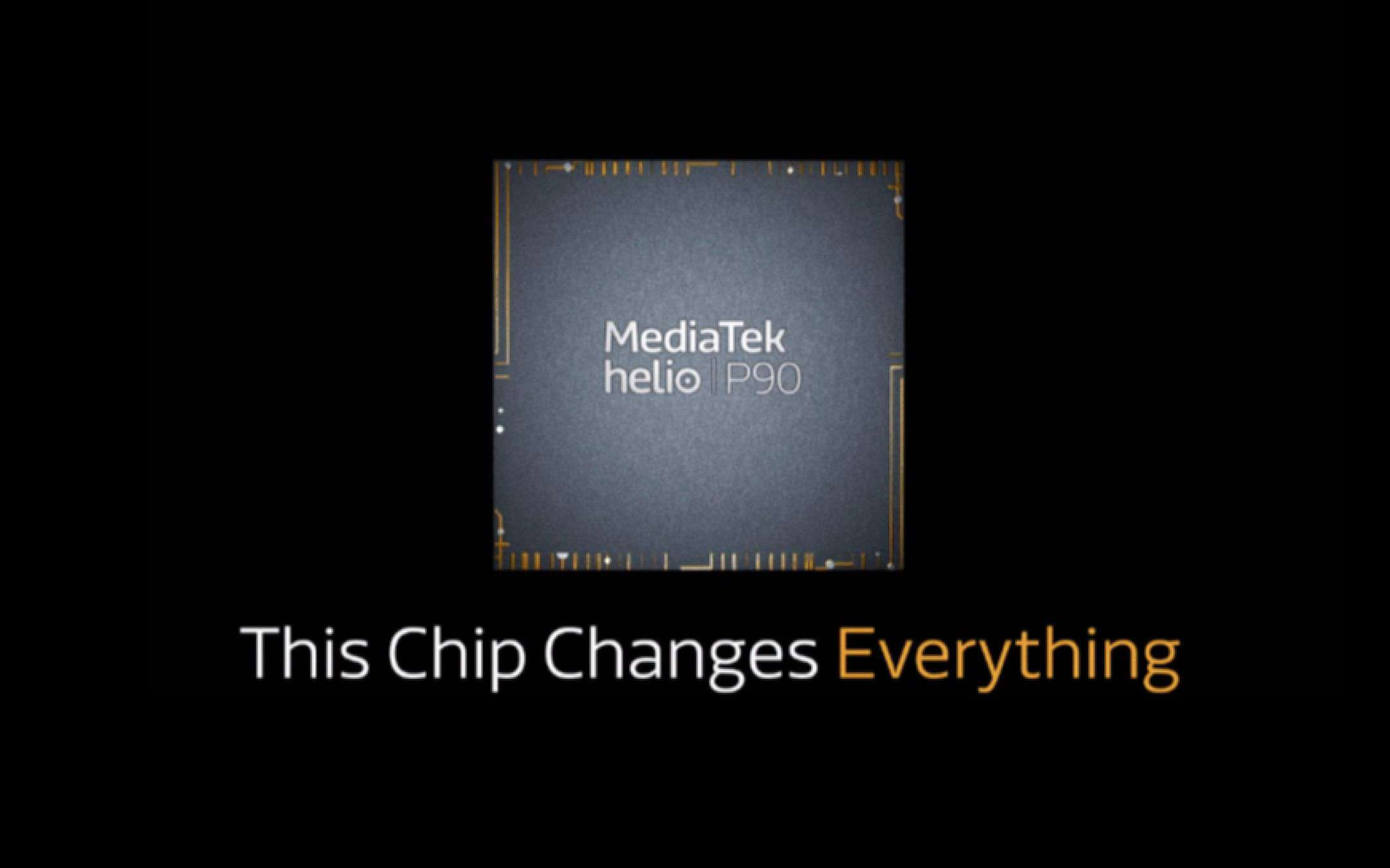 Mediatek Helio P90: il primo teaser ufficiale