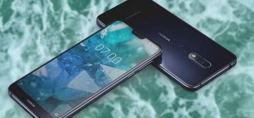 Nokia 7.1: partito l'aggiornamento ad Android Pie