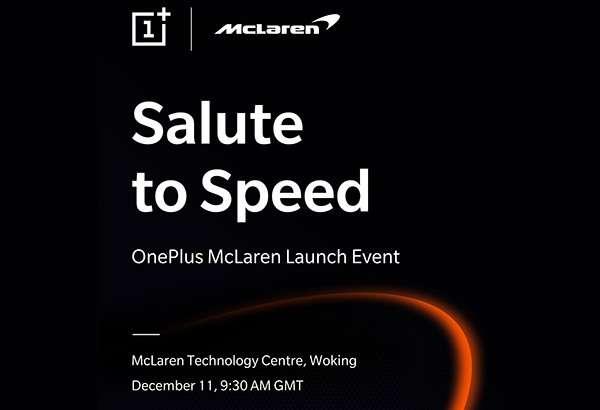 OnePlus e McLaren insieme per una partnership