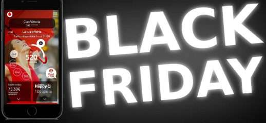 Vodafone Happy Friday: speciale Black Friday