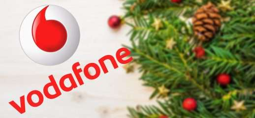 Vodafone RED Days: per Natale 50GB in 4,5G a 4,99€