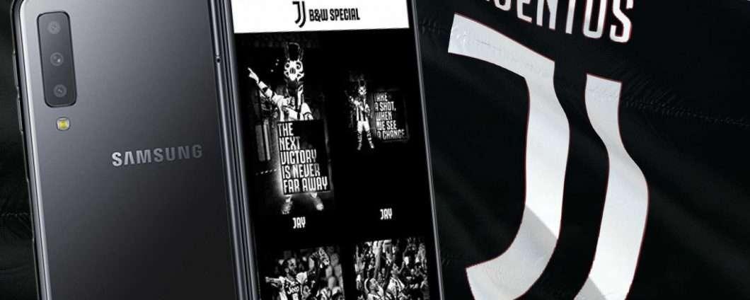 Galaxy A7 Juventus Special Edition è Ufficiale