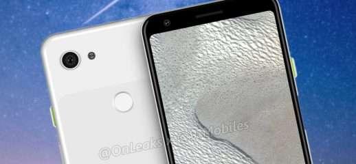 Pixel 3 Lite XL, senza notch e con jack audio