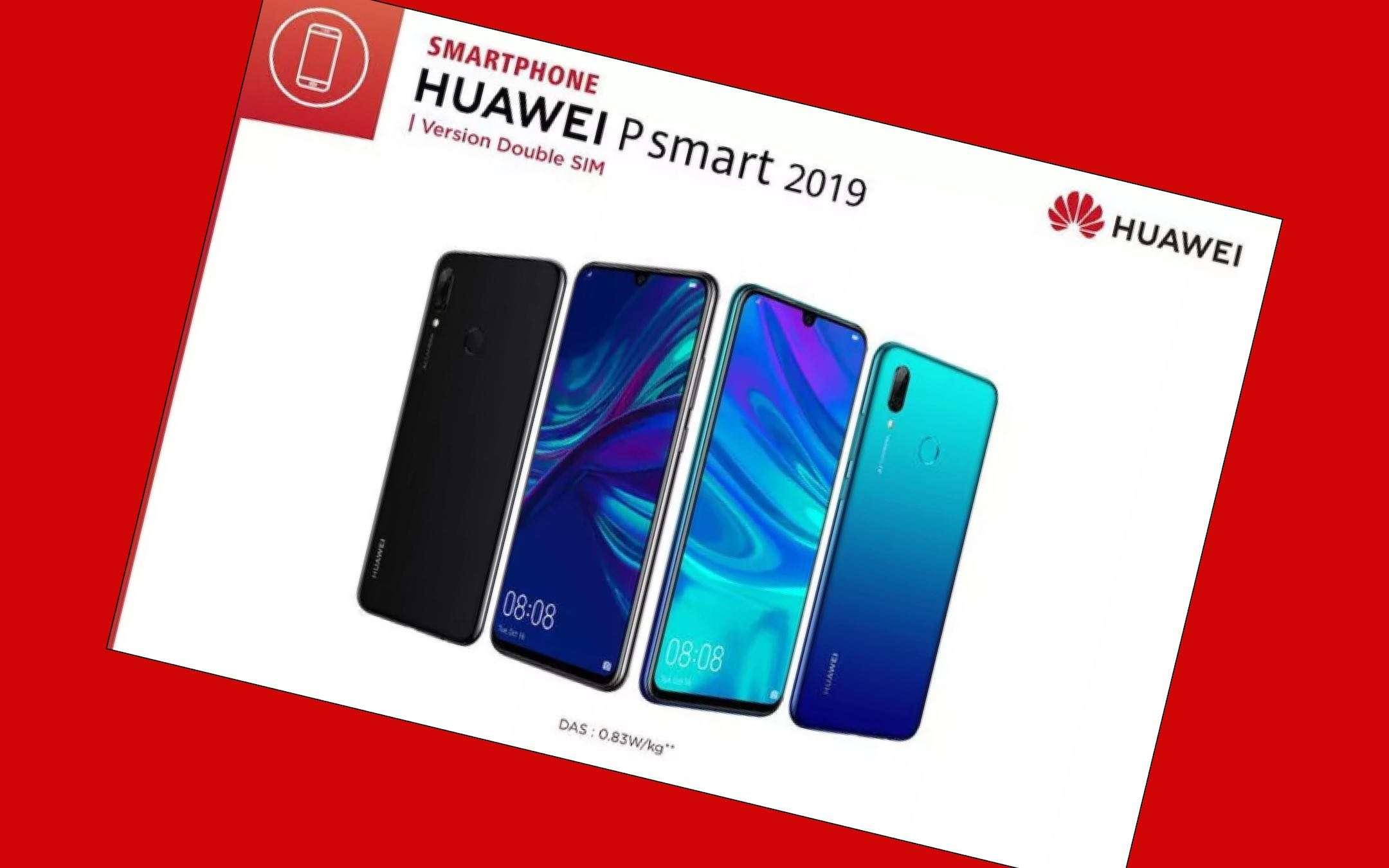 Huawei P Smart 2019 svelato in anticipo per errore