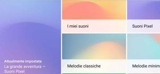 Google lancia Pixel Sounds 2 con nuove suonerie