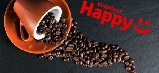 Vodafone Happy Friday sconta i prodotti Nespresso