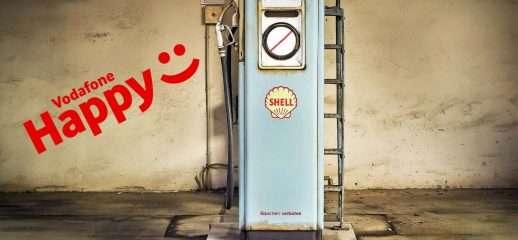 Vodafone Happy Friday: 5€ di carburante in omaggio