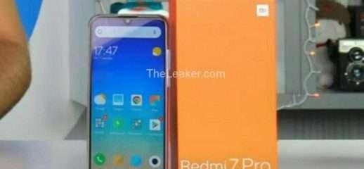 Xiaomi RedMi 7 Pro: ecco la prima foto reale