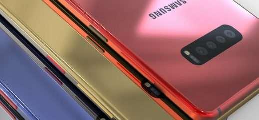 Galaxy S10 ed S10+: il bellissimo video concept