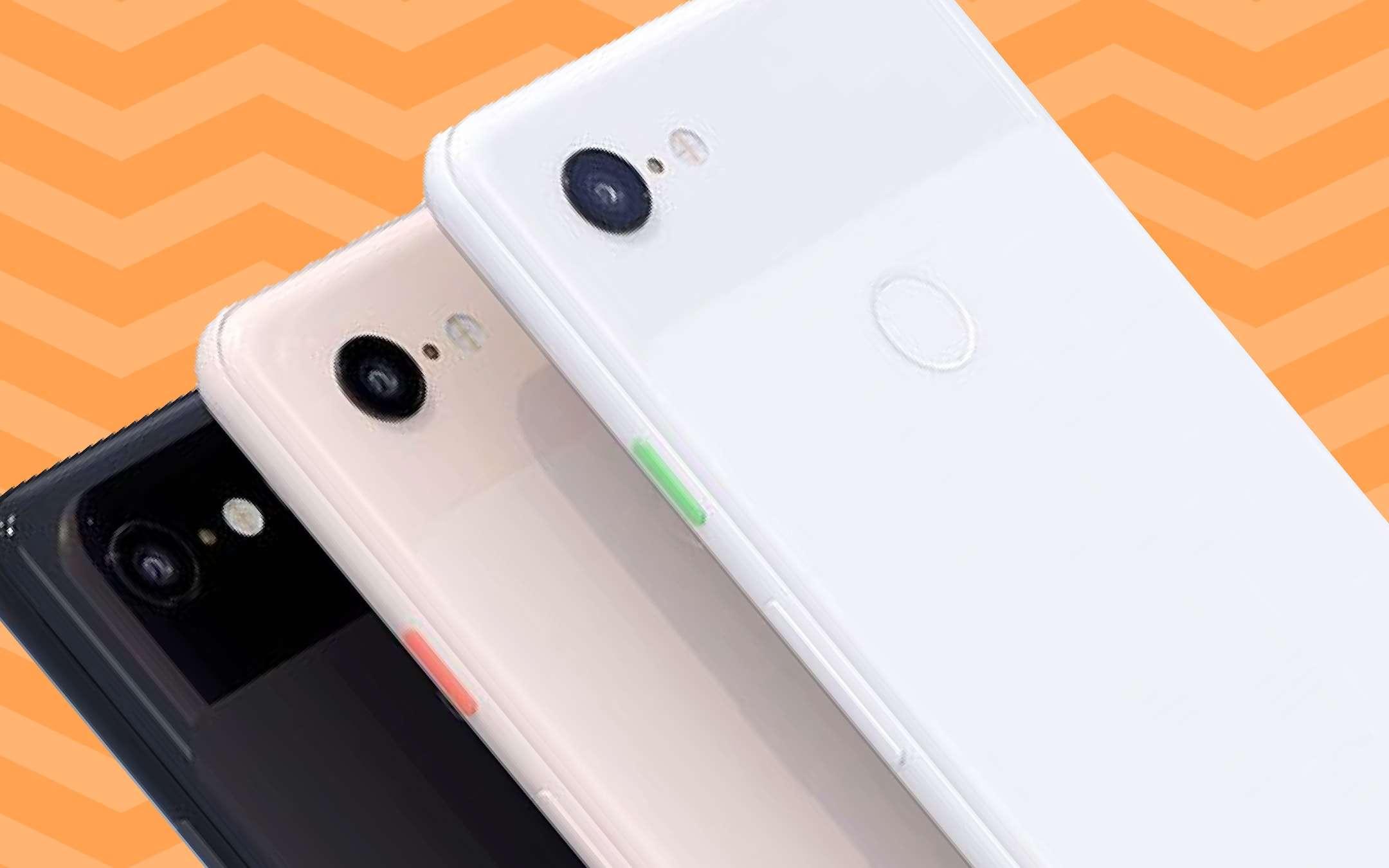 Come un Pixel, ma full screen: brevetto di Google