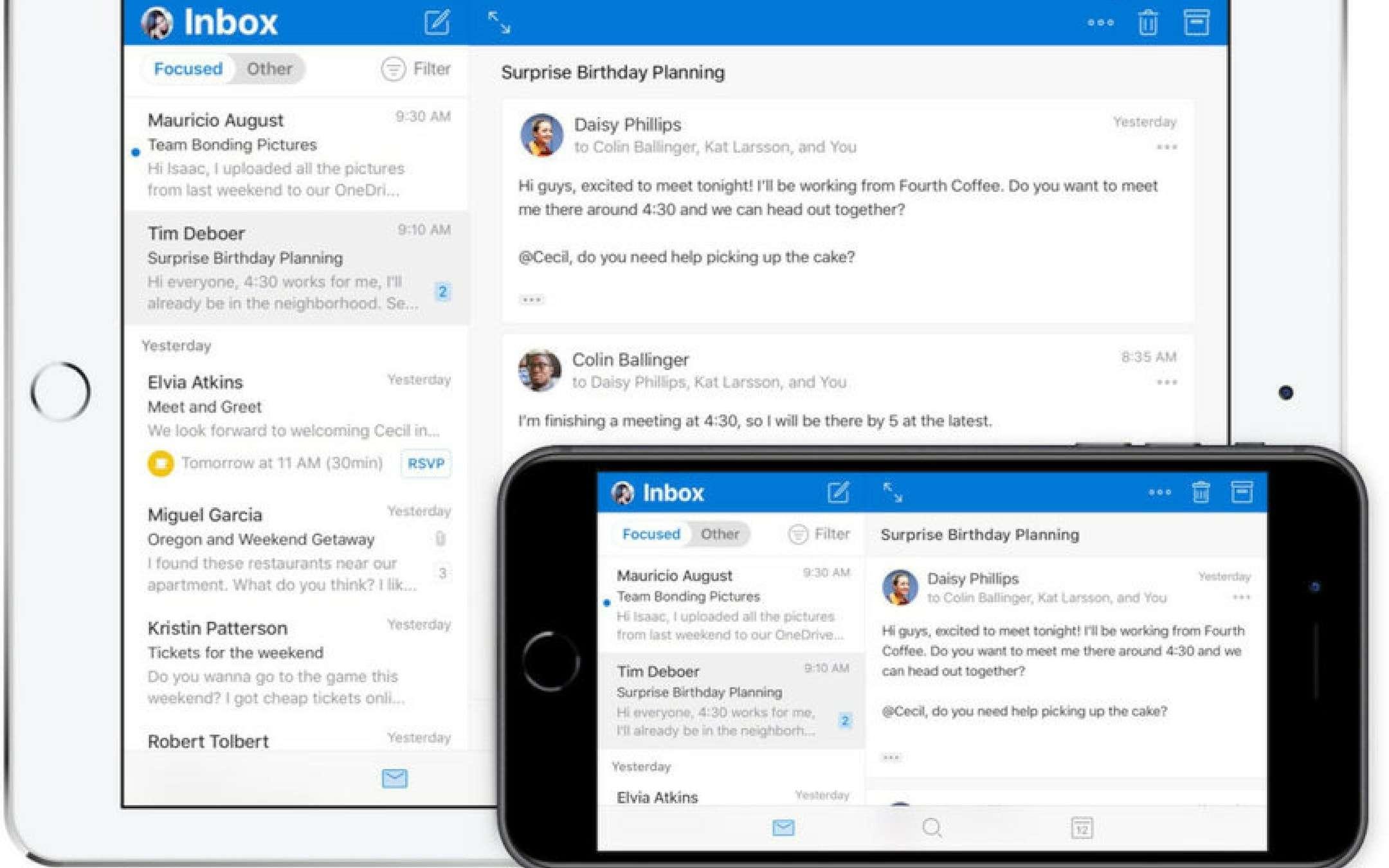 Microsoft: il nuovo Outlook per iOS è pronto