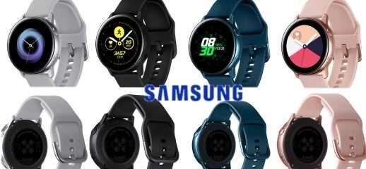 Samsung Galaxy Watch Active in tutti i colori