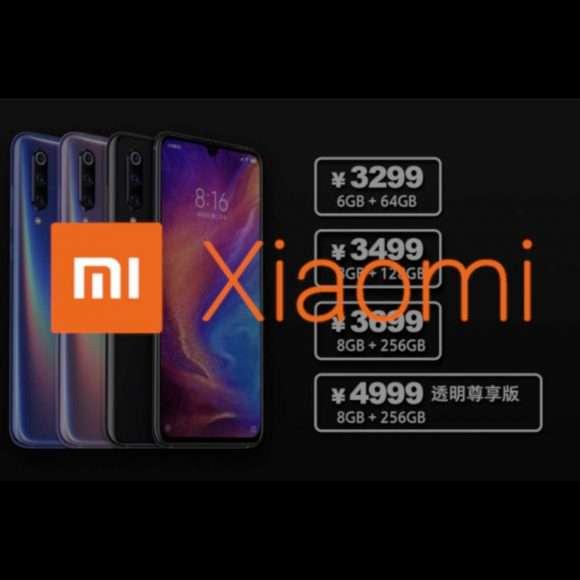 {Xiaomi Mi 9 e Mi 9 Explorer: spuntano i prezzi