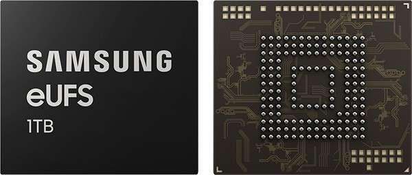 Samsung eUFS, microSD da 1TB