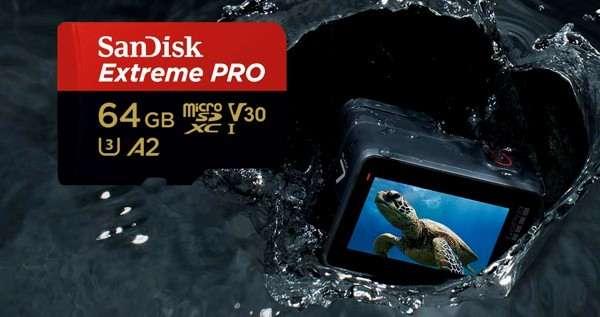 microSD SanDisk per GoPro