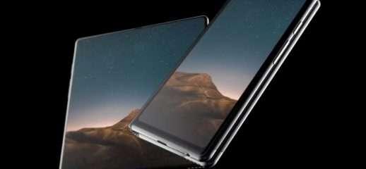 Huawei: in foto un dettaglio del pieghevole