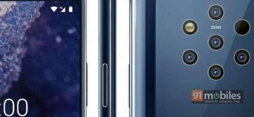 Nokia 9 PureView: ecco i render stampa ufficiali