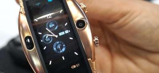 Nubia Alpha: smartwatch pieghevole al MWC 2019