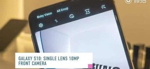 Samsung Galaxy S10 ed S10+: recensione leak