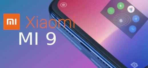 Xiaomi Mi 9 in arrivo shortcut da lettore FP