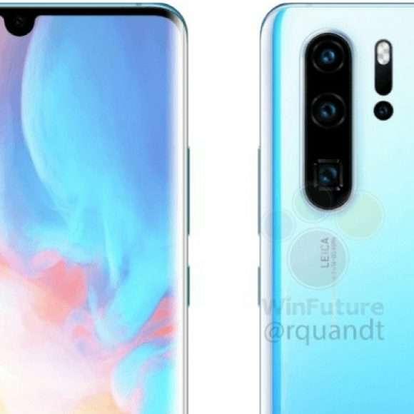 {Huawei P30 mostrato in un video non ufficiale