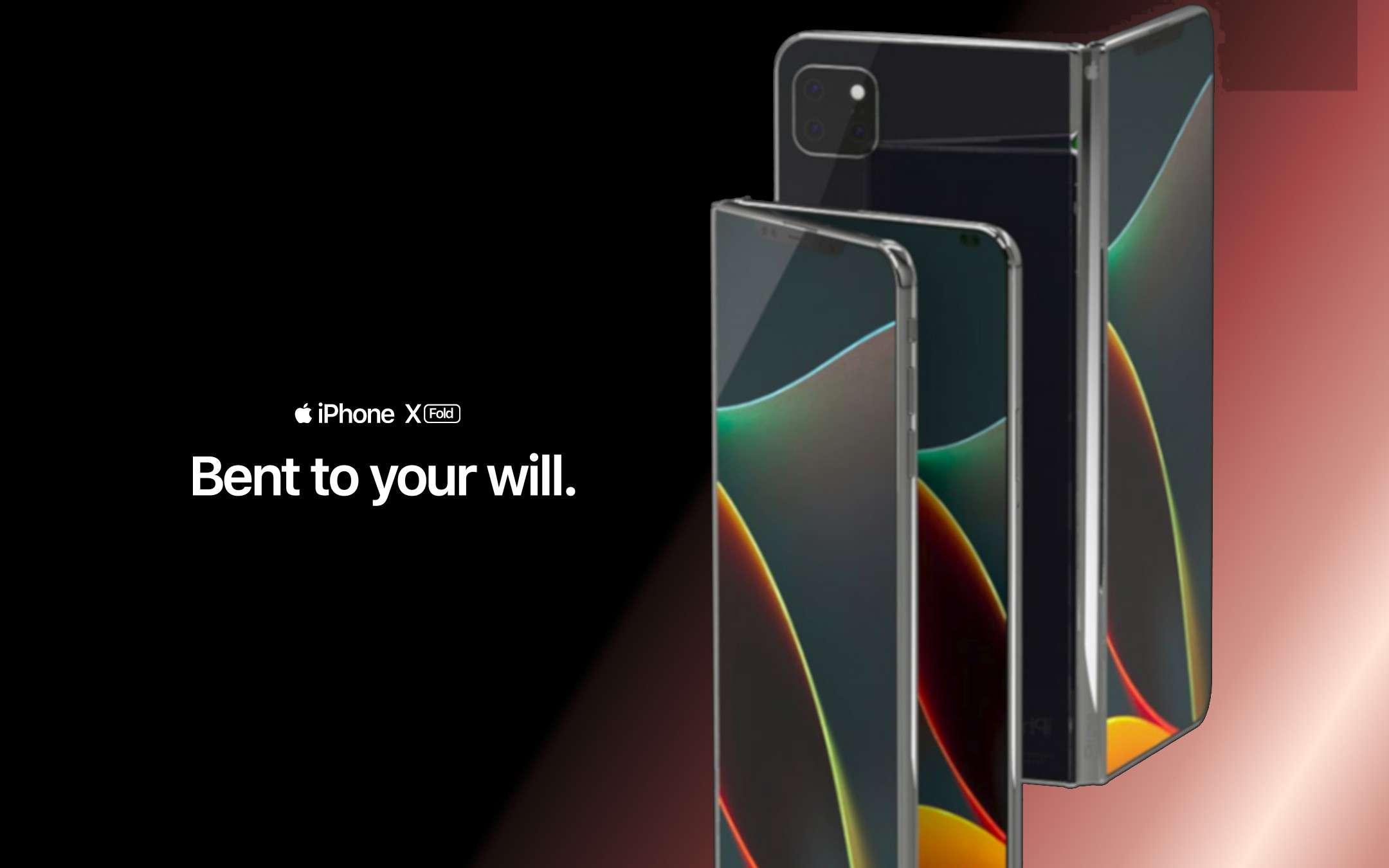 iPhone X Fold: il concept del pieghevole Apple