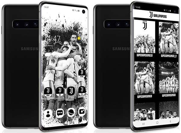 Samsung E Juve Galaxy S10 Si Veste Di Bianconero
