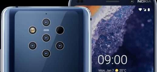 Nokia 9 PureView: i vantaggi della penta camera