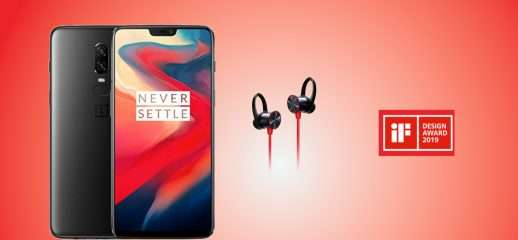 OnePlus 6 e Bullets premiati all'IF Design Award