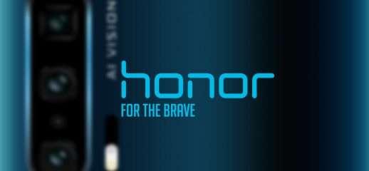 Honor 20 Pro: foto del posteriore mostra 4 camere