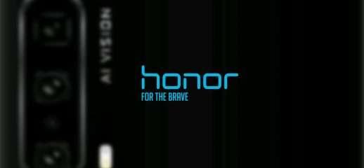 Honor 20 Pro: render con telecamera periscopica
