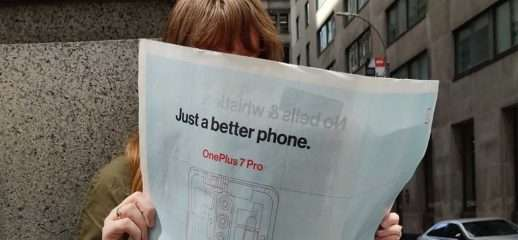 OnePlus 7 Pro: sul New York Times senza notch