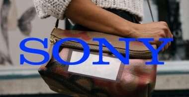 Sony: display pieghevoli anche sugli zaini