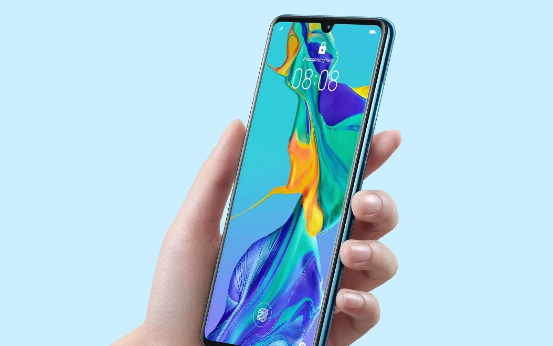 Huawei P30 e TIM: acquisto a rate e sconto di 300€