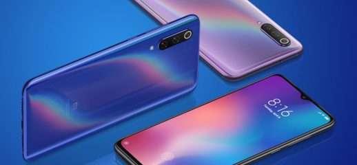 Xiaomi Mi 9: l'update cambia la forma del notch