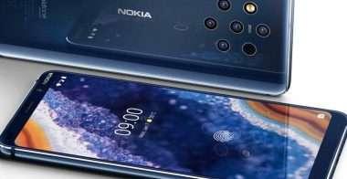 Nokia 9 PureView: l'aggiornamento sistema tutto