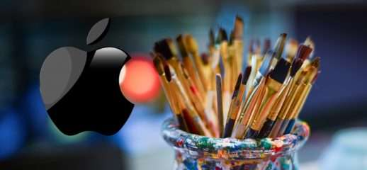 Apple pencil: nuovo brevetto con punte a pennello