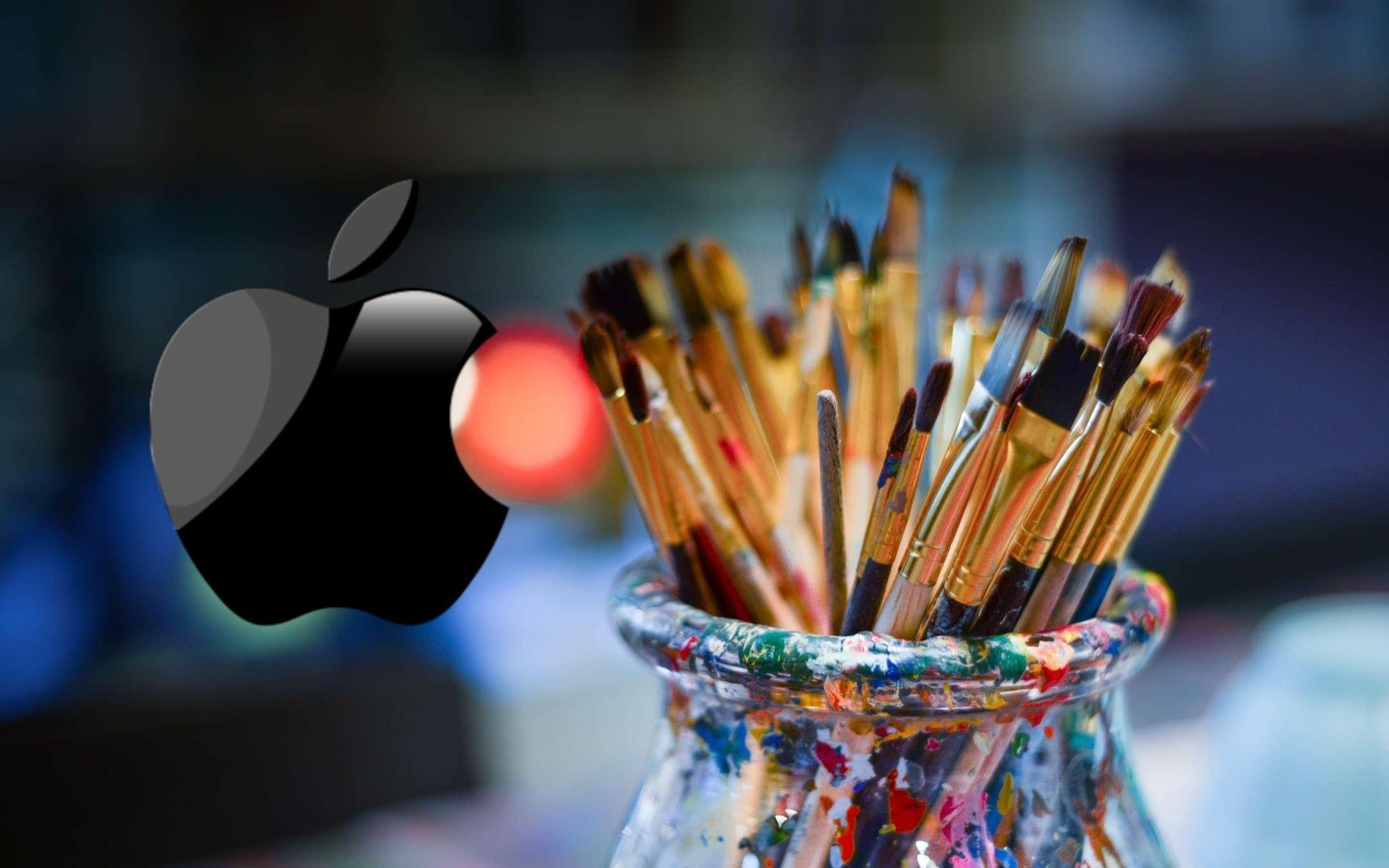 Apple pencil: nuovo brevetto con punte a pennello