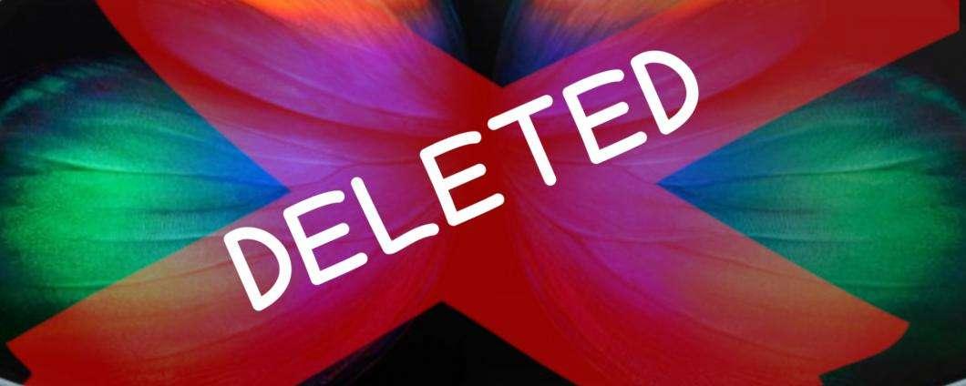 Samsung Galaxy Fold: annullati tutti gli ordini