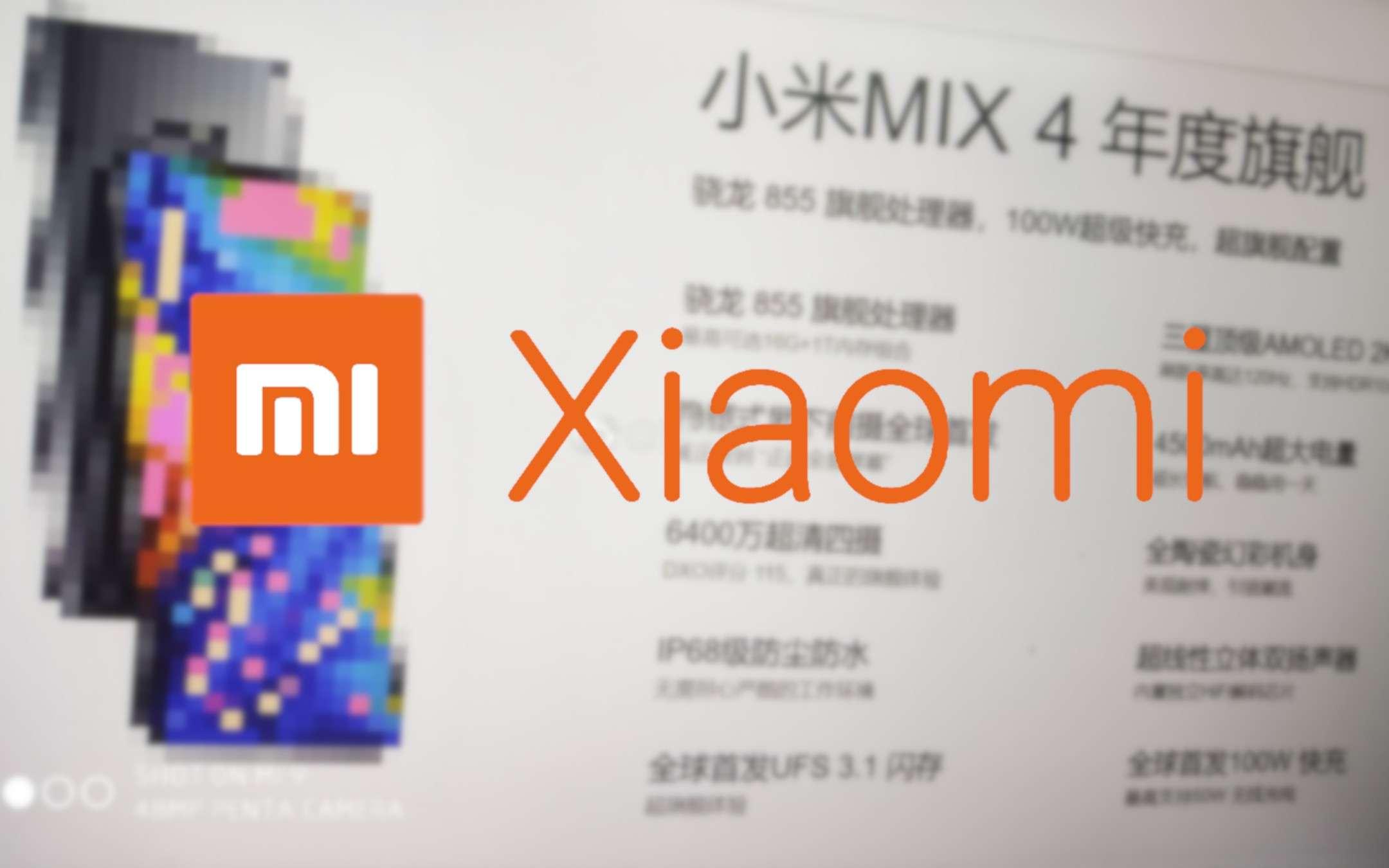 Xiaomi Mi Mix 4: le specifiche sono esagerate