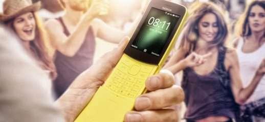 Nokia 8110: arriva WhatsApp anche in Italia